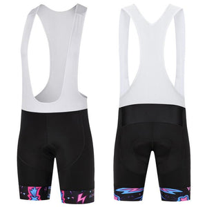 Trendy Cycling Men's White / XS ILLUMINATION BURST - MEN'S SHORT BIB