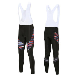 Trendy Cycling Men's White / XS Rose Division - Men's Thermal Bib