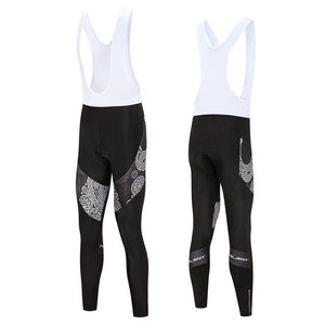 Trendy Cycling Men's White / XS Skull - Men's Thermal Bib
