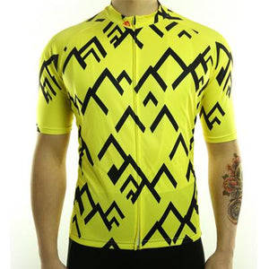 Trendy Cycling Men's Yellow / S Summit - Men's Short Sleeve Jersey