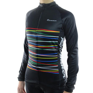 Trendy Cycling Women's Black / XS Fibre - Women's Long Sleeve Jersey