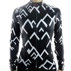 Trendy Cycling Women's Black / XS SUMMIT - WOMEN'S LONG SLEEVE JERSEY