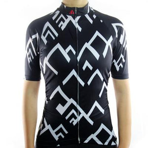 Trendy Cycling Women's Black / XS SUMMIT - WOMEN'S SHORT SLEEVE JERSEY