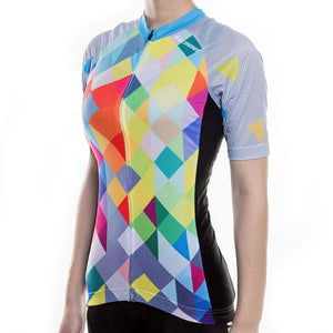 Trendy Cycling Women's COLOR DIAMOND - WOMEN'S SHORT SLEEVE JERSEY