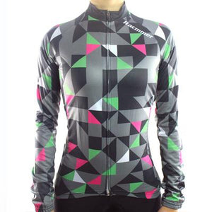 Trendy Cycling Women's DarkSlateGrey / XS FLOAT - WOMEN'S LONG SLEEVE JERSEY
