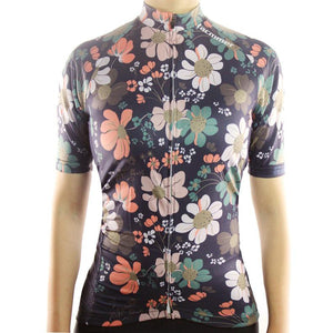 Trendy Cycling Women's FLOWER POWER - WOMEN'S SHORT SLEEVE JERSEY