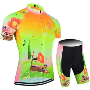 Trendy Cycling Women's JERSEY & PANTS / XXL / Lime HILL TOP - WOMEN'S SHORT SLEEVE JERSEY SET