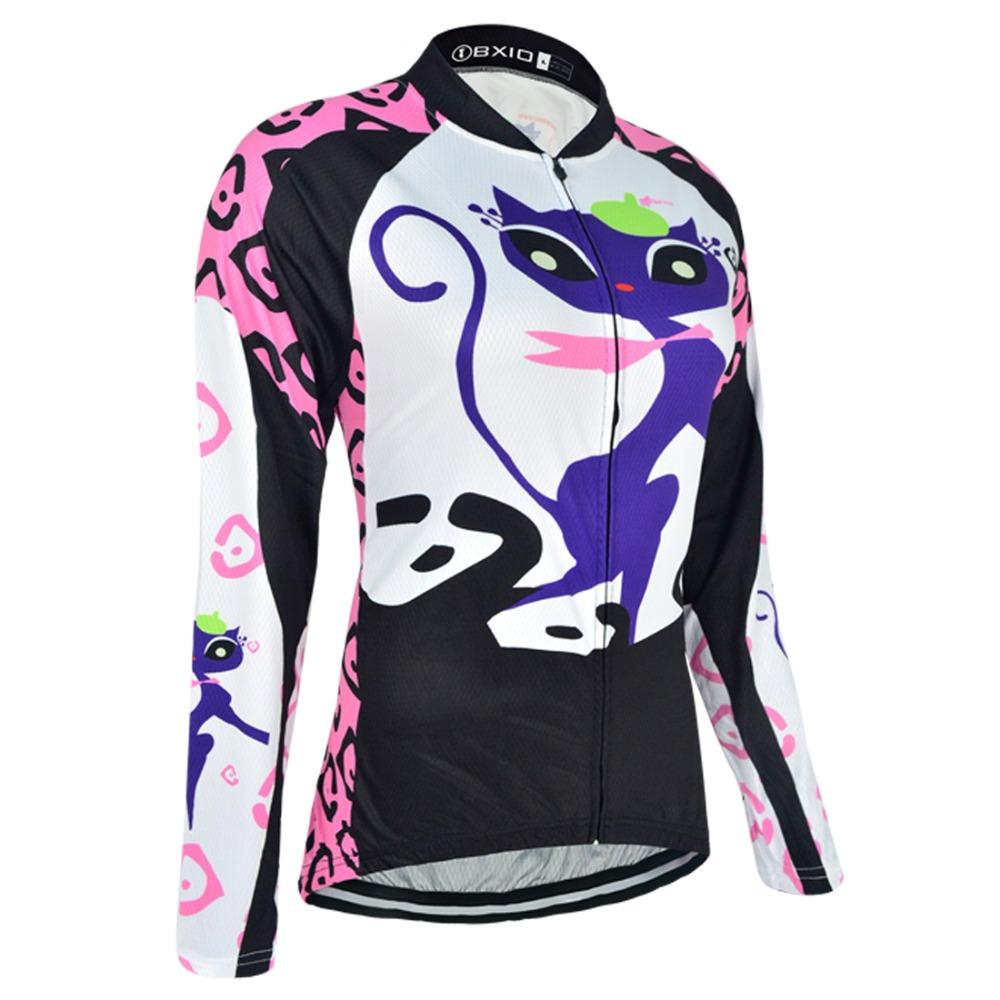 8259eebcc Women s Thermal Cycling Jersey - KITTEN - Trendy Cycling
