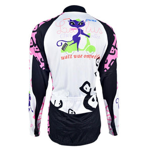 Trendy Cycling Women's KITTEN - WOMEN'S THERMAL JERSEY