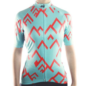 Trendy Cycling Women's LightBlue / XS SUMMIT - WOMEN'S SHORT SLEEVE JERSEY