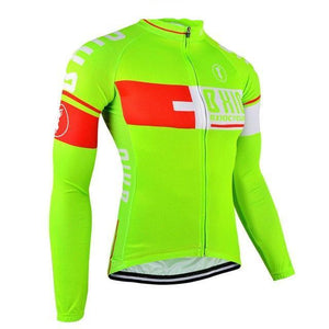 Trendy Cycling Women's Lime / XXL PLUS - WOMEN'S THERMAL JERSEY