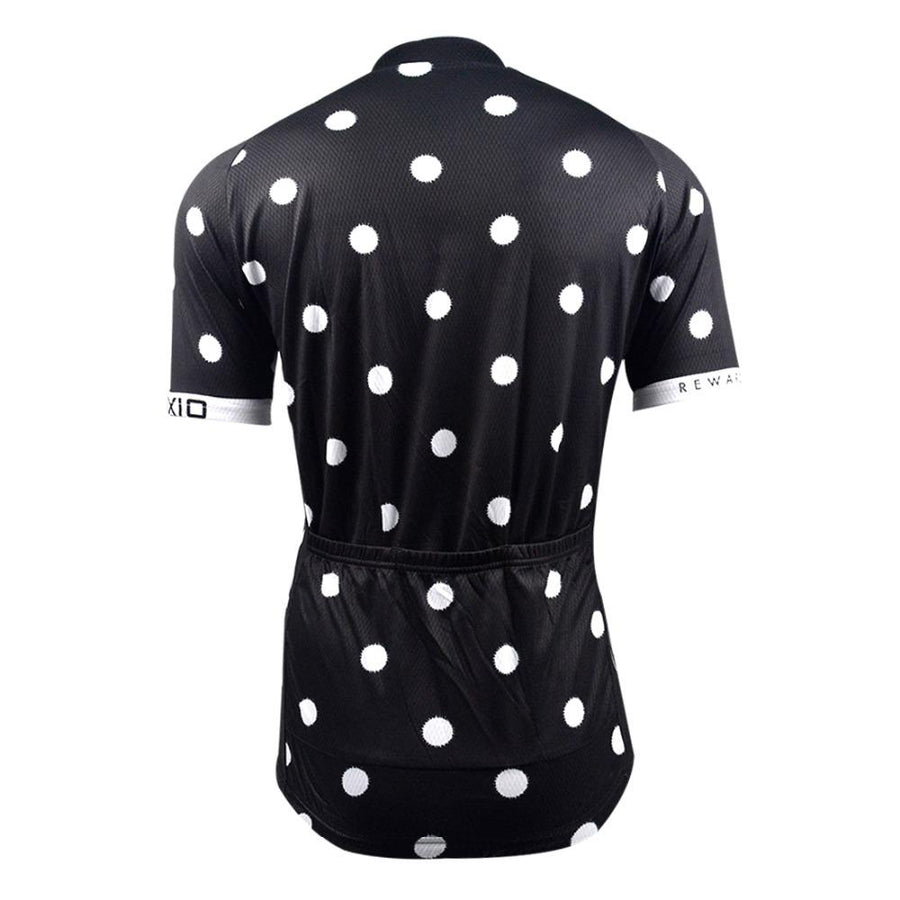 Trendy Cycling Women's Black / XXL POLKA DOT - WOMEN'S SHORT SLEEVE JERSEY