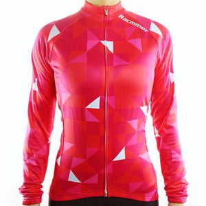 Trendy Cycling Women's Red / XS FLOAT - WOMEN'S LONG SLEEVE JERSEY