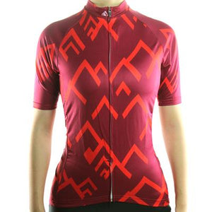 Trendy Cycling Women's Red / XS SUMMIT - WOMEN'S SHORT SLEEVE JERSEY