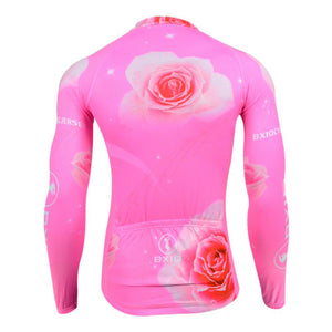 Trendy Cycling Women's ROSE TWIST - WOMEN'S LONG SLEEVE JERSEY