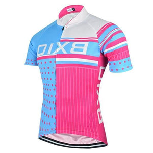 Trendy Cycling Women's SkyBlue / L SQUARED - WOMEN'S SHORT SLEEVE JERSEY