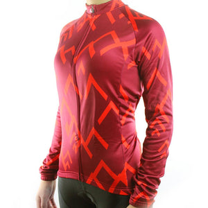 Trendy Cycling Women's SUMMIT - WOMEN'S LONG SLEEVE JERSEY