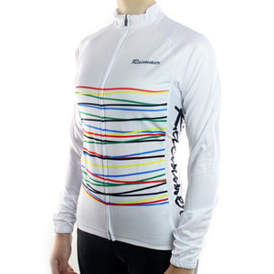 Trendy Cycling Women's White / XS Fibre - Women's Long Sleeve Jersey