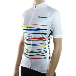 Trendy Cycling Women's White / XS Fibre - Women's Short Sleeve Jersey