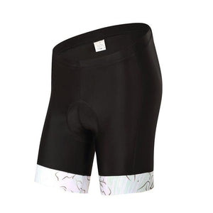 Trendy Cycling Women's White / XS Flower - Women's Shorts