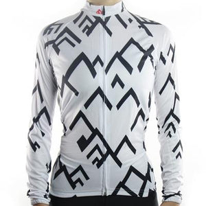 Trendy Cycling Women's White / XS SUMMIT - WOMEN'S LONG SLEEVE JERSEY