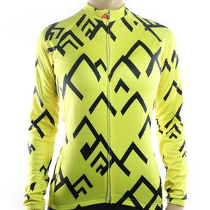 Trendy Cycling Women's Yellow / XS SUMMIT - WOMEN'S LONG SLEEVE JERSEY