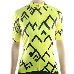 Trendy Cycling Women's Yellow / XS SUMMIT - WOMEN'S SHORT SLEEVE JERSEY
