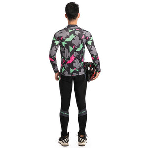 TrendyCycling Maillot - Long Sleeve Jersey Set