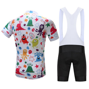 TrendyCycling Men's Anime - Men's Short Sleeve Jersey Set