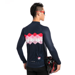 TrendyCycling Men's Ciclismo - Men's Long Sleeve Jersey