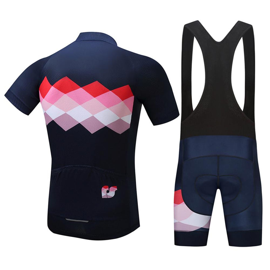 TrendyCycling Men's Ciclismo  - Men's Short Sleeve Jersey Set