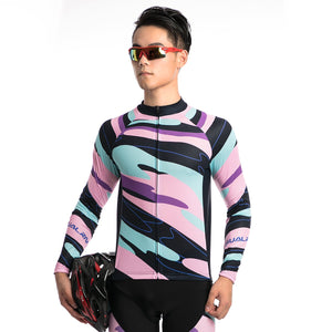 TrendyCycling Men's Element - Men's Long Sleeve Jersey