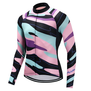 TrendyCycling Men's Element - Men's Long Sleeve Jersey Set