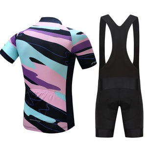 TrendyCycling Men's Element - Men's Short Sleeve Jersey Set