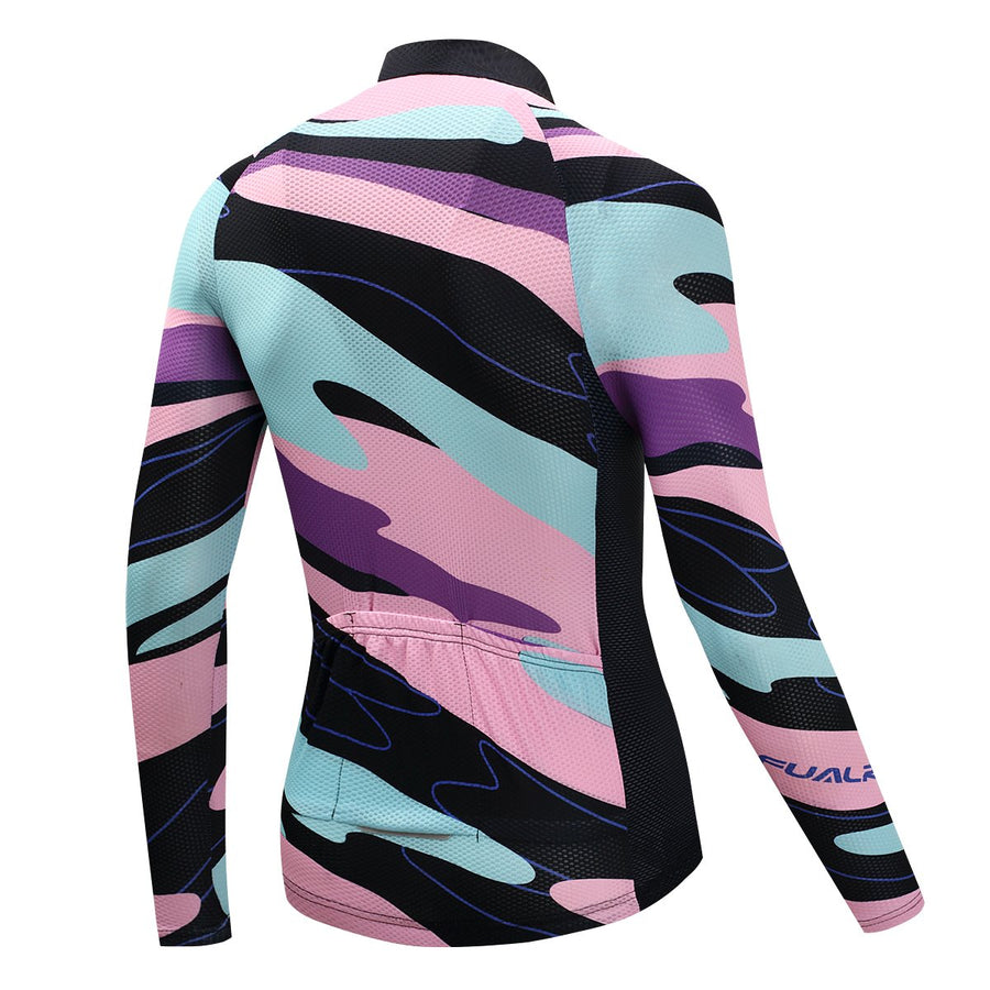 TrendyCycling Men's XS / LightPink Element - Men's Thermal Jersey