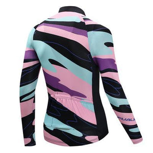 TrendyCycling Men's Element - Men's Thermal Jersey Set