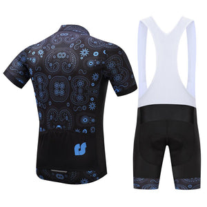TrendyCycling Men's Equilibrium - Men's Short Sleeve Jersey Set