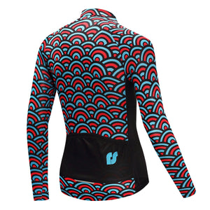 TrendyCycling Men's Horizon - Men's Long Sleeve Jersey Set