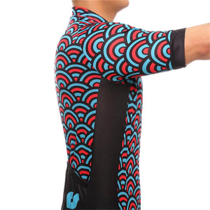 TrendyCycling Men's Horizon - Men's Short Sleeve Jersey