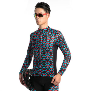 TrendyCycling Men's Horizon - Men's Thermal Jersey