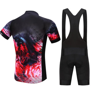 TrendyCycling Men's Inferno - Men's Short Sleeve Jersey Set