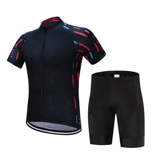 TrendyCycling Men's Jersey and pants / XS / Black Ropa - Men's Short Sleeve Jersey Set