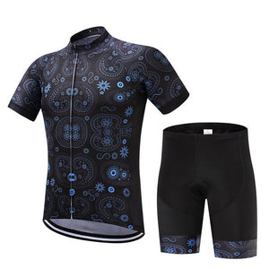 TrendyCycling Men's Jersey and pants / XS / MidnightBlue Equilibrium - Men's Short Sleeve Jersey Set