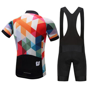TrendyCycling Men's Jewel - Men's Short Sleeve Jersey Set