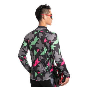 TrendyCycling Men's Maillot - Men's Long Sleeve Jersey