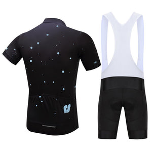 TrendyCycling Men's Moons - Men's Short Sleeve Jersey Set