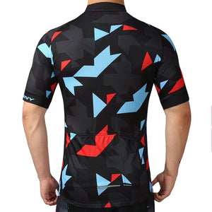 TrendyCycling Men's Onyx Jewel - Men's Short Sleeve Jersey Set