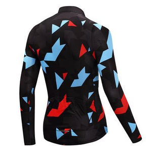 TrendyCycling Men's Onyx Jewel - Men's Thermal Jersey Set