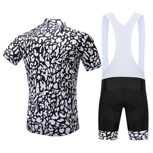 TrendyCycling Men's Patched - Men's Short Sleeve Jersey Set