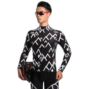 TrendyCycling Men's Peak - Men's Long Sleeve Jersey